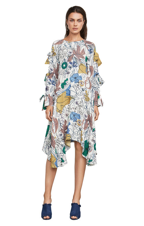 Cicely Floral-Print Dress