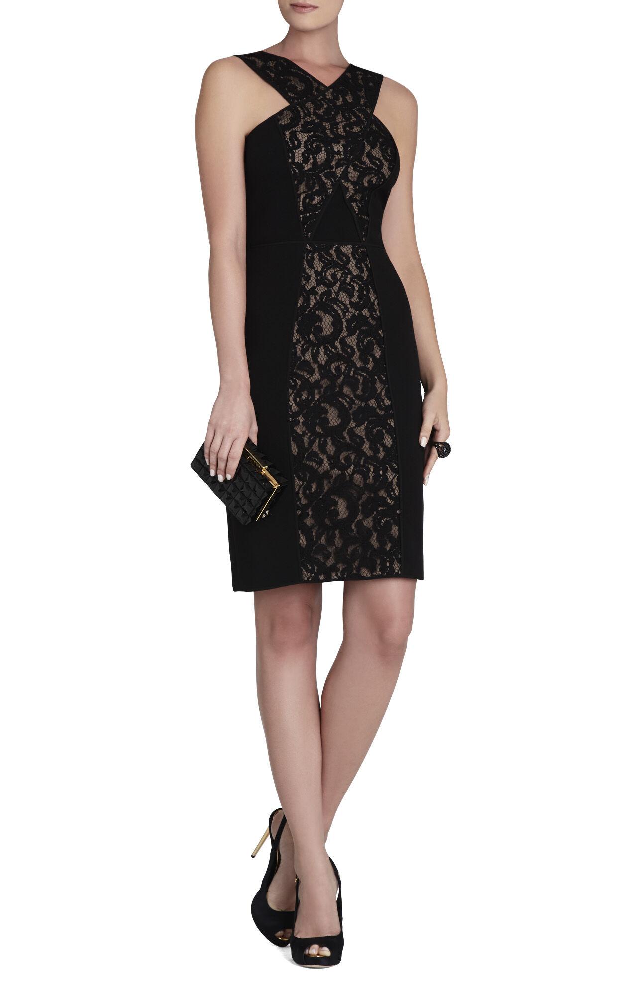 Claudine Crisscross Bodice Dress
