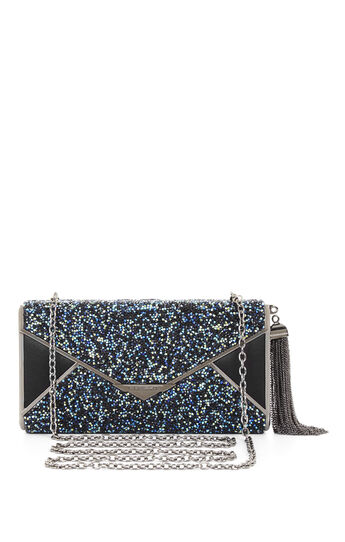 Slone Rock Crystal Envelope Clutch