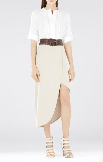 Mirte Long-Sleeve Pintucks Shirt