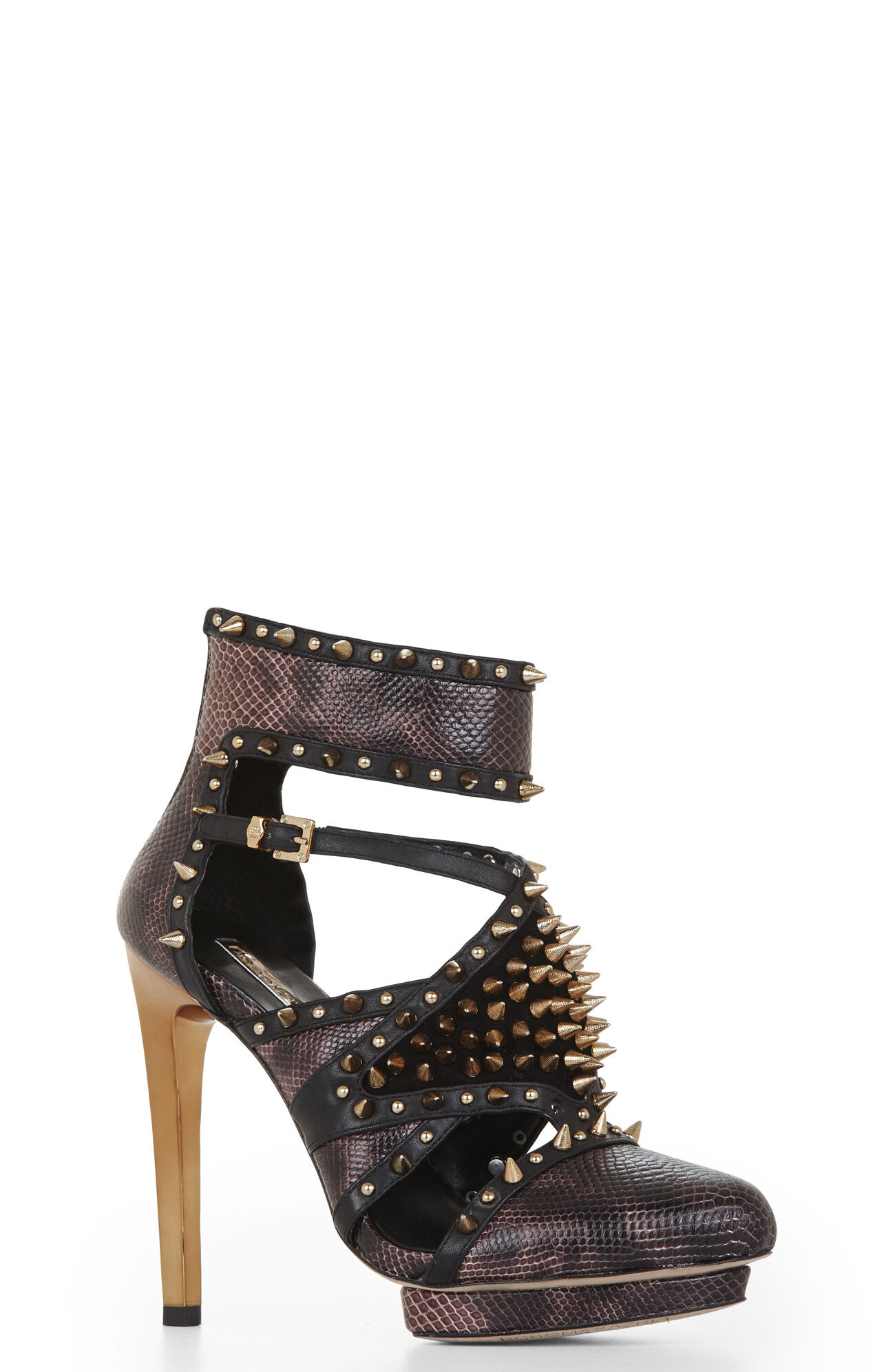 Hersh Spiked Cutout Shoe