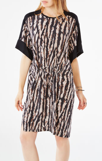 Nicolette Animal Print Dress