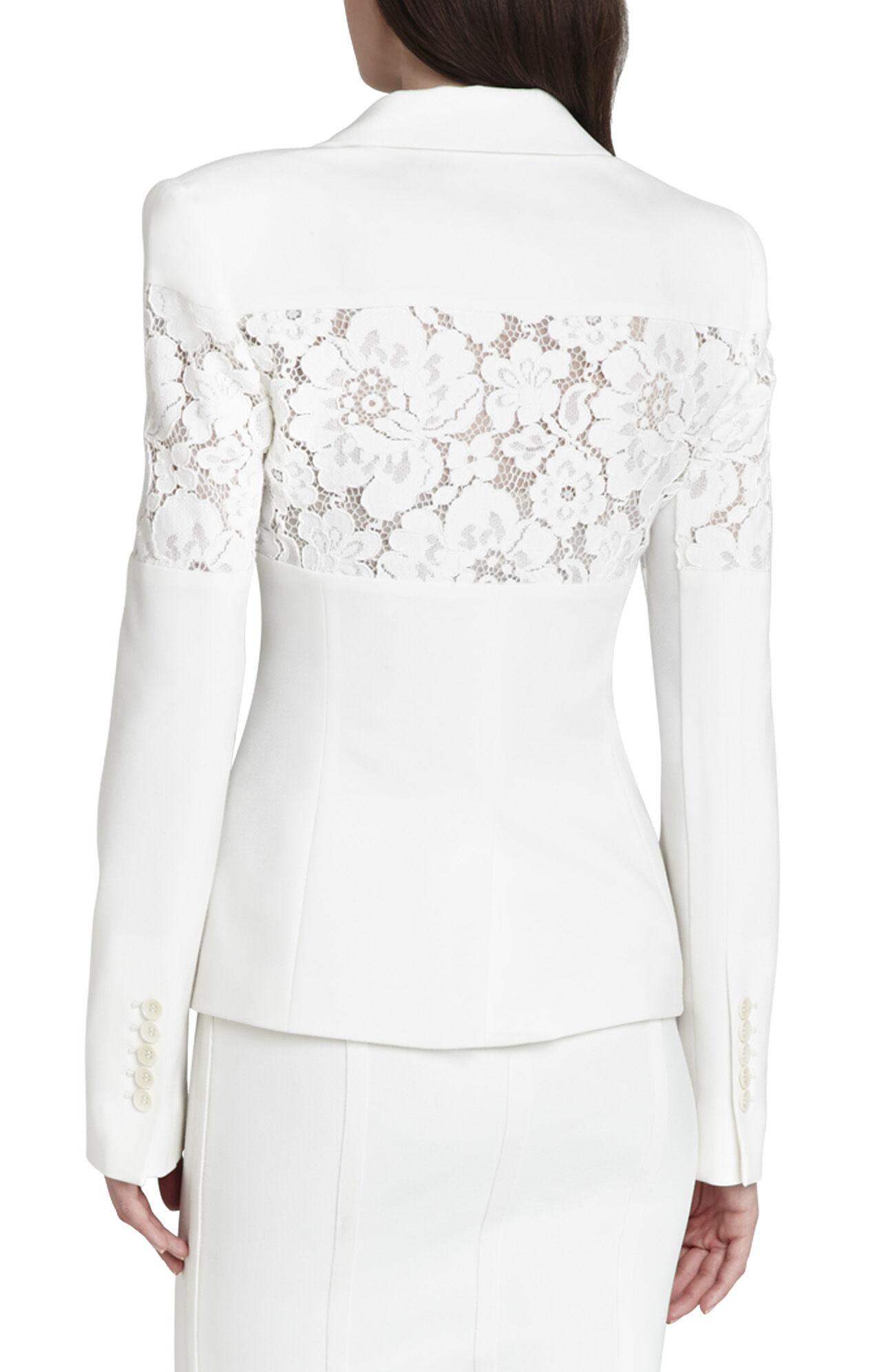 Noah Floral-Lace Jacket