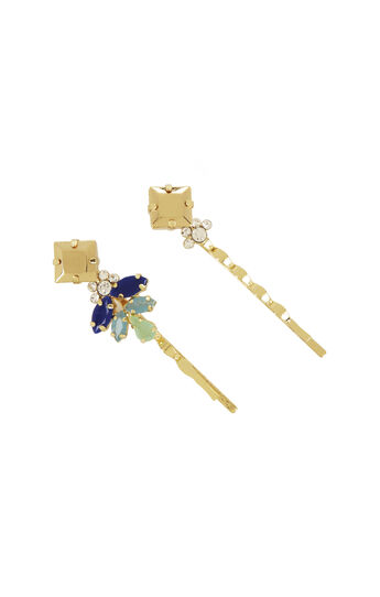 Stone Cluster Bobby Pins