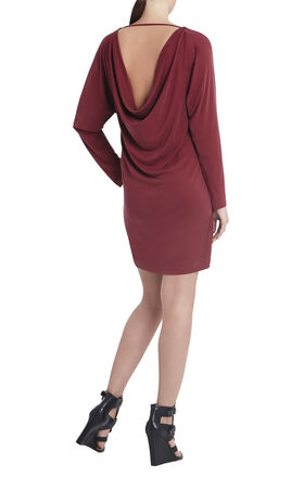 Shelbi Cowl-Back Dress
