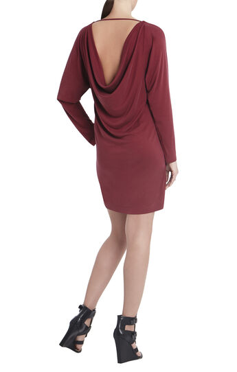 Shelbi Cowl-Back Dress