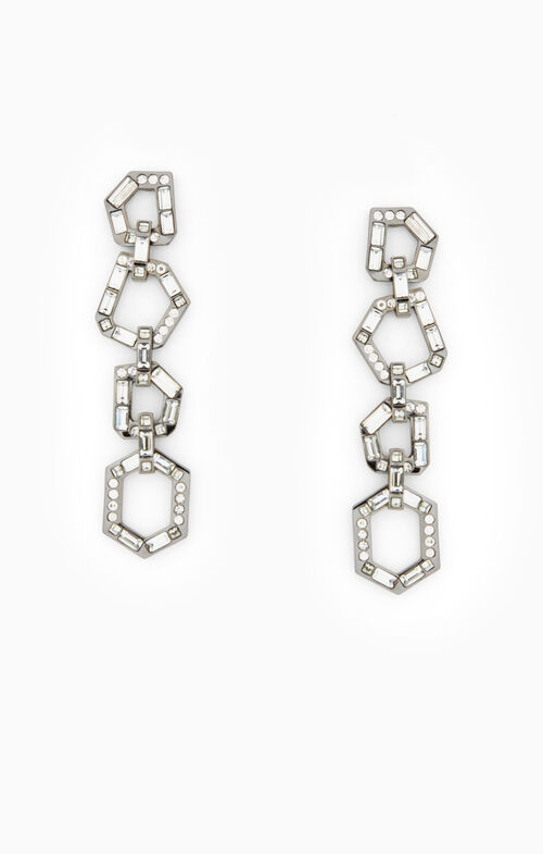 Stone-Link Earrings