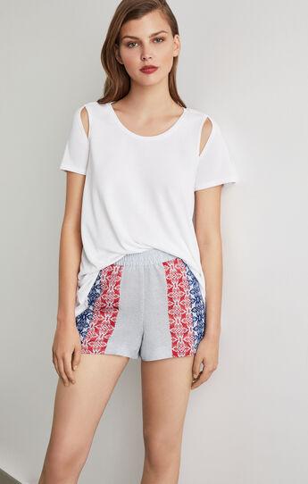Shannyn Short-Sleeve Cutout Top