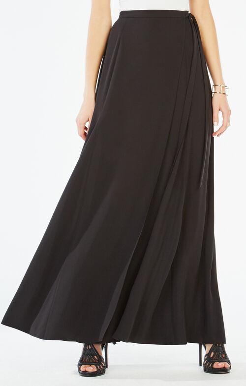 Aviva Wrap Maxi Skirt