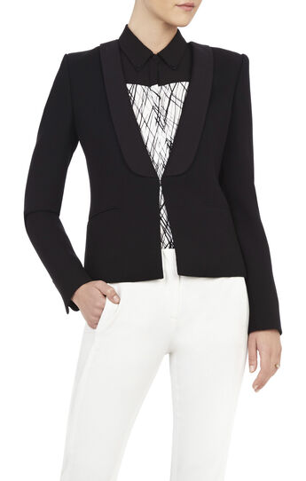 Chandler Shawl-Collar Blazer