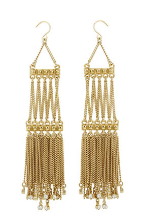 Rocker Fringe Earrings