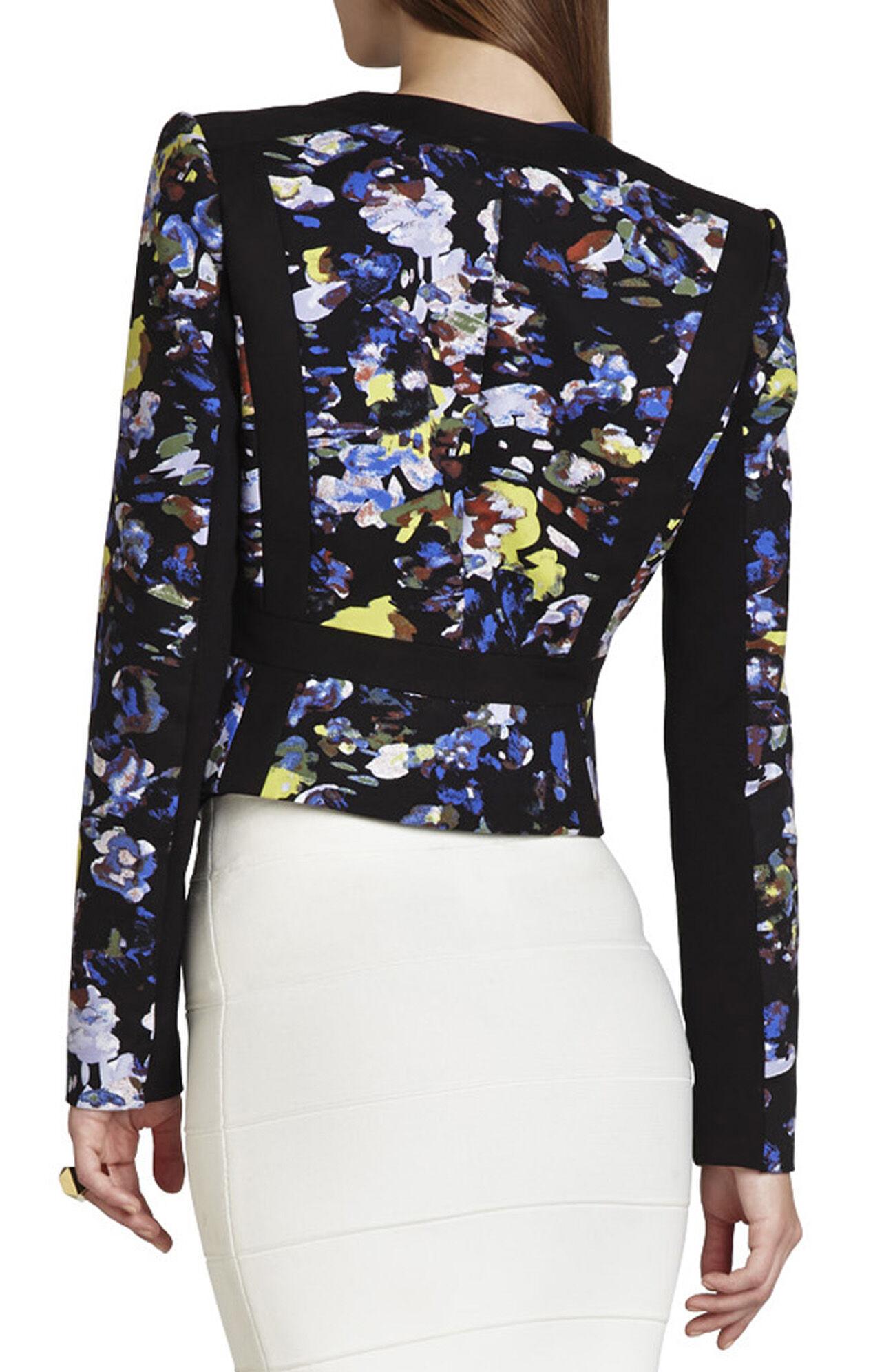Keeley Print-Blocked Jacket