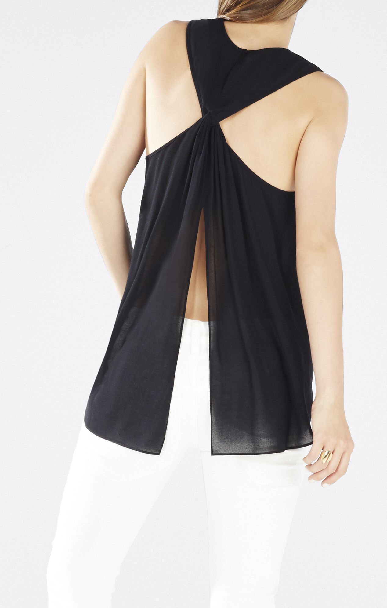 Jenina Draped Racerback Top