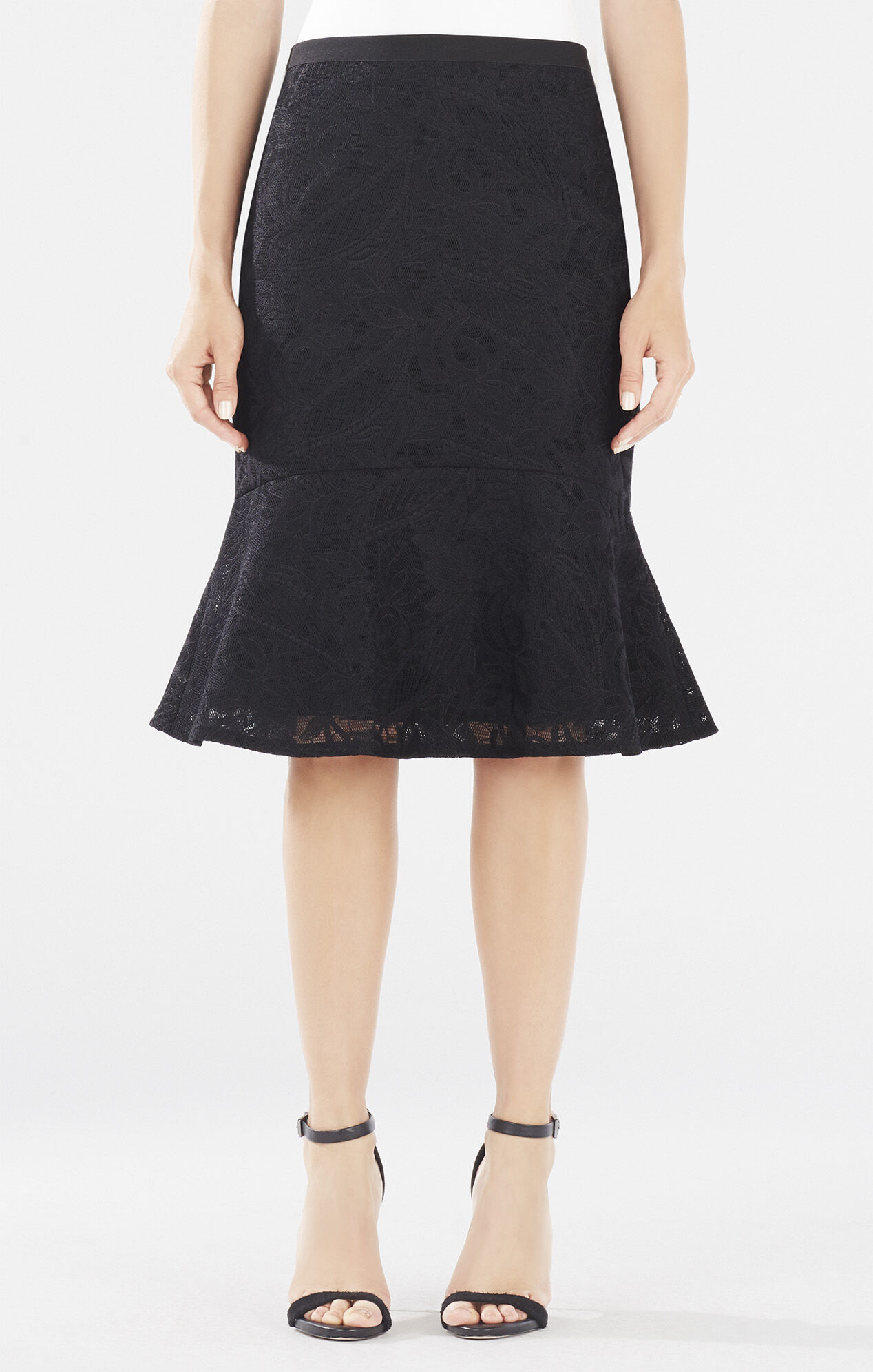 how to add a flounce to a skirt