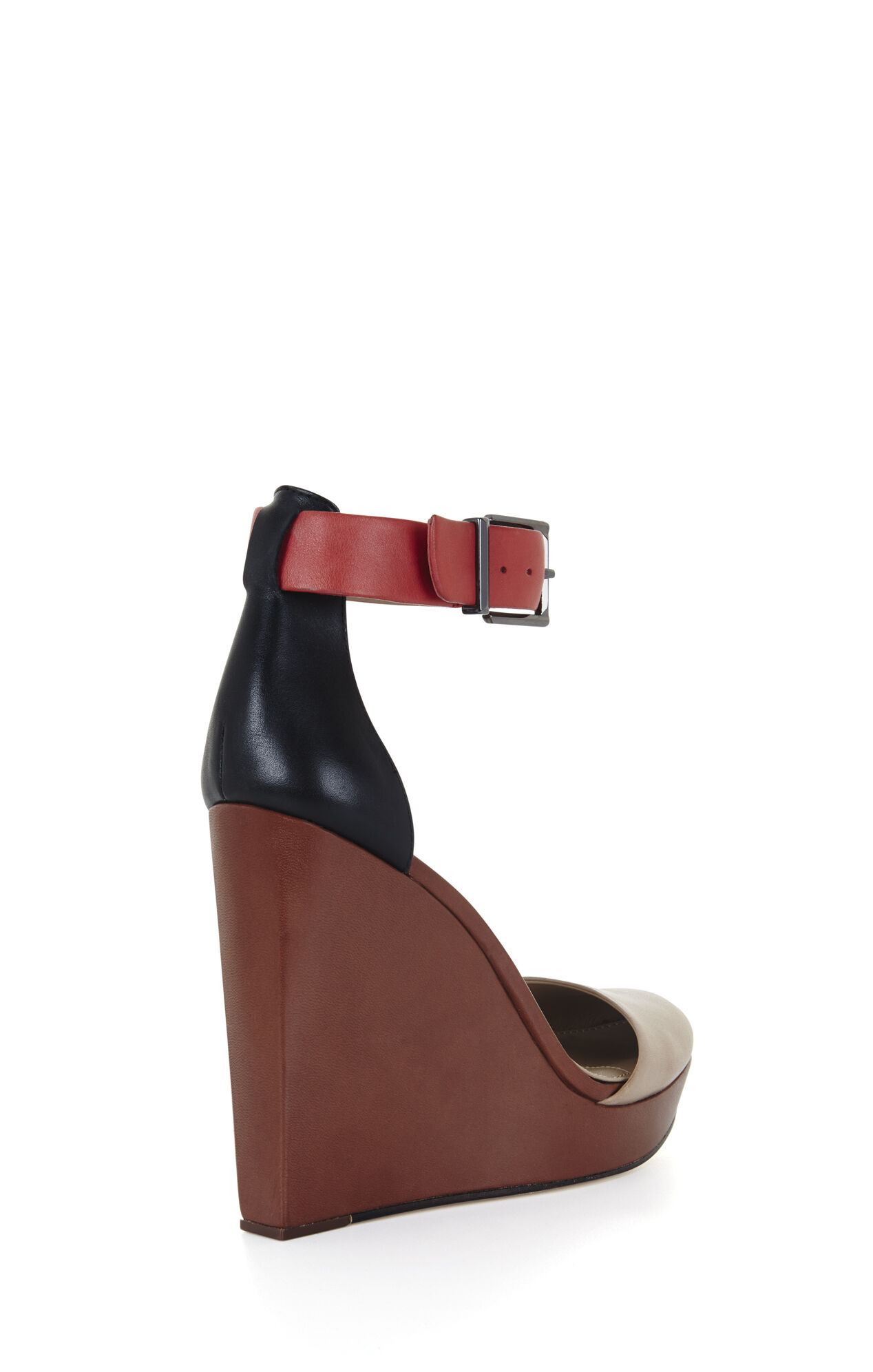 Dame Color-Blocked Wedge Sandal