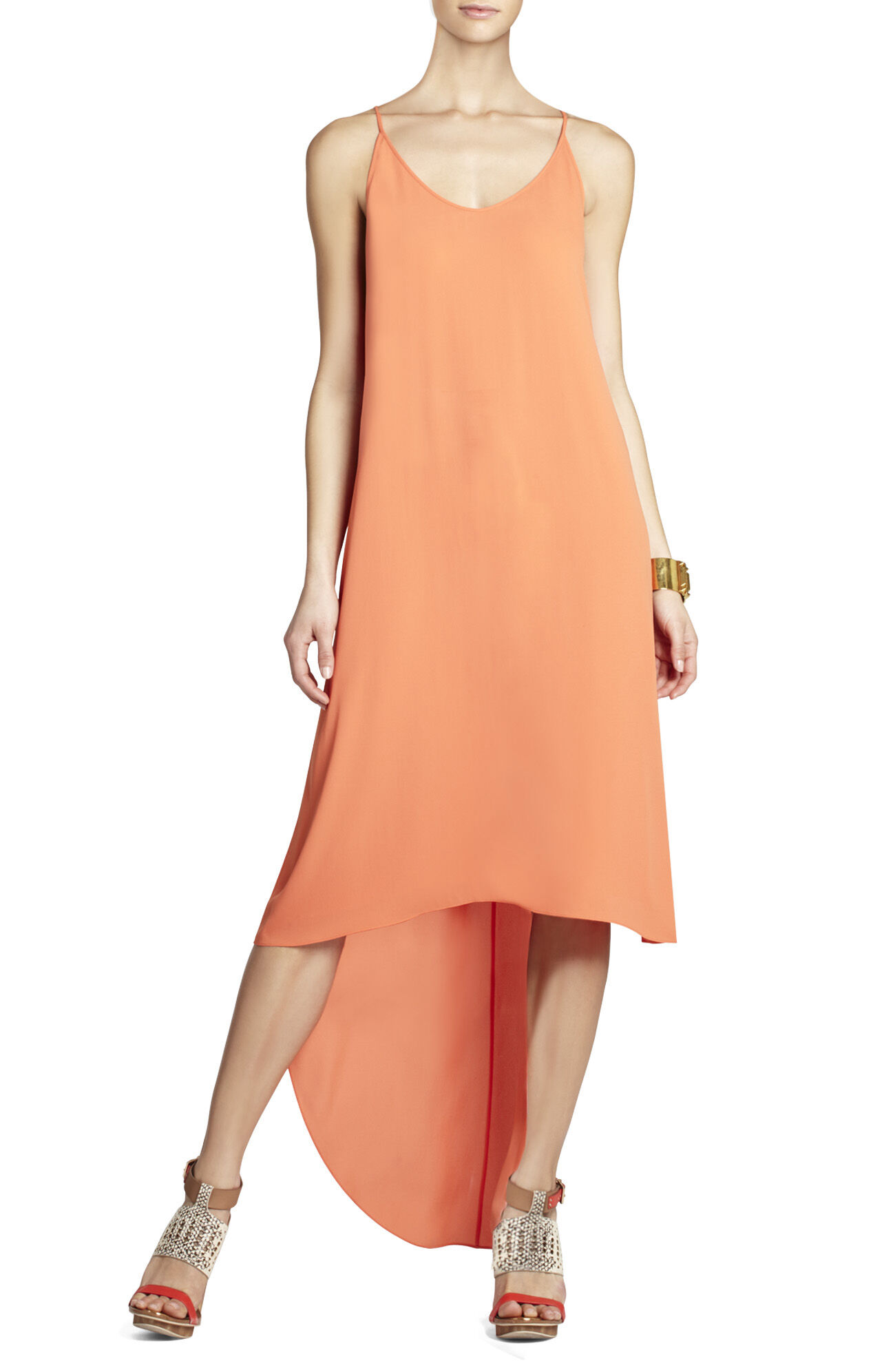 Rory Sleeveless Dress With High-Low Hem
