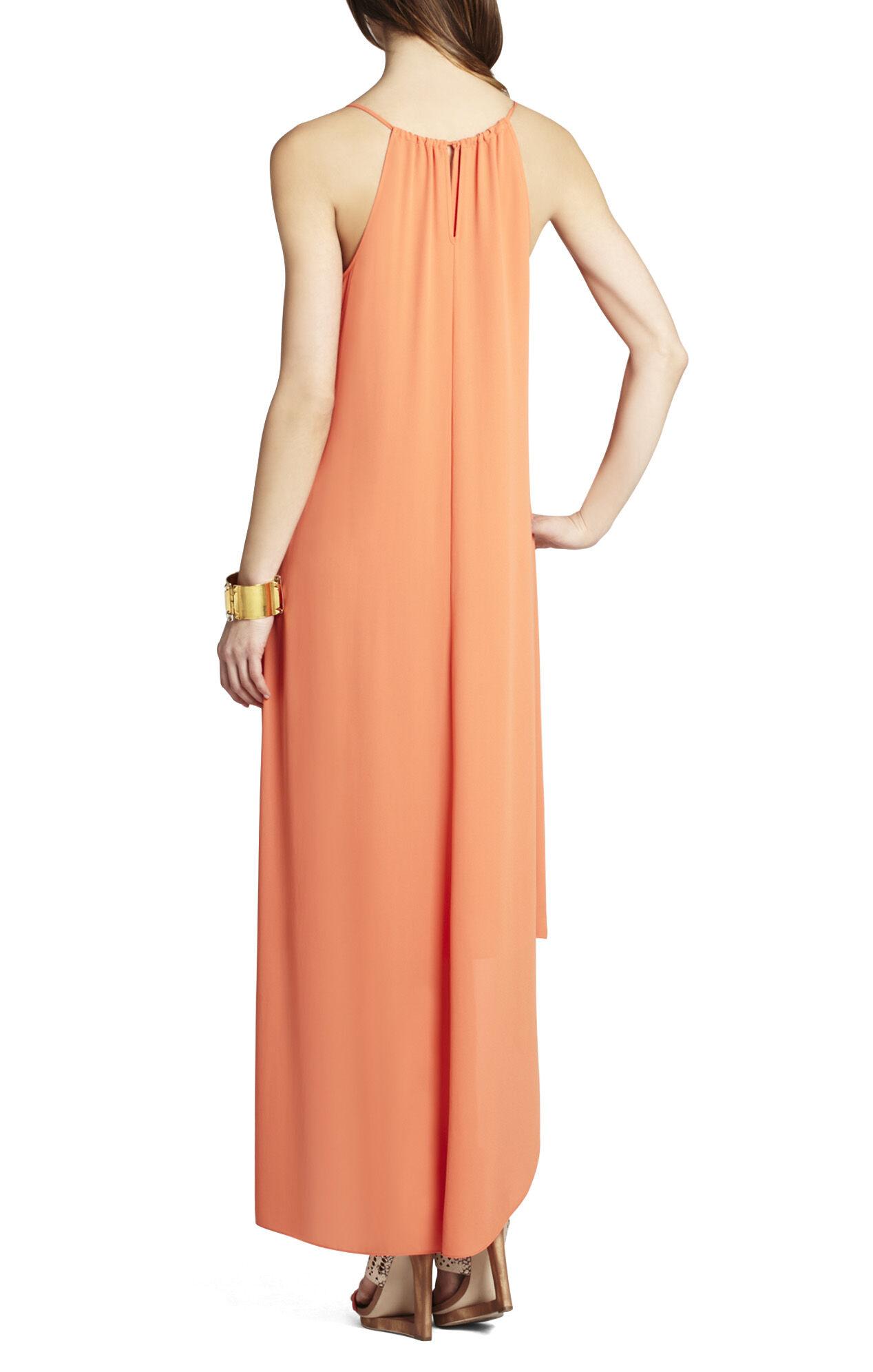 Rory Sleeveless Dress With High-Low Hem
