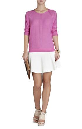 Natasa Raglan Wool Pullover