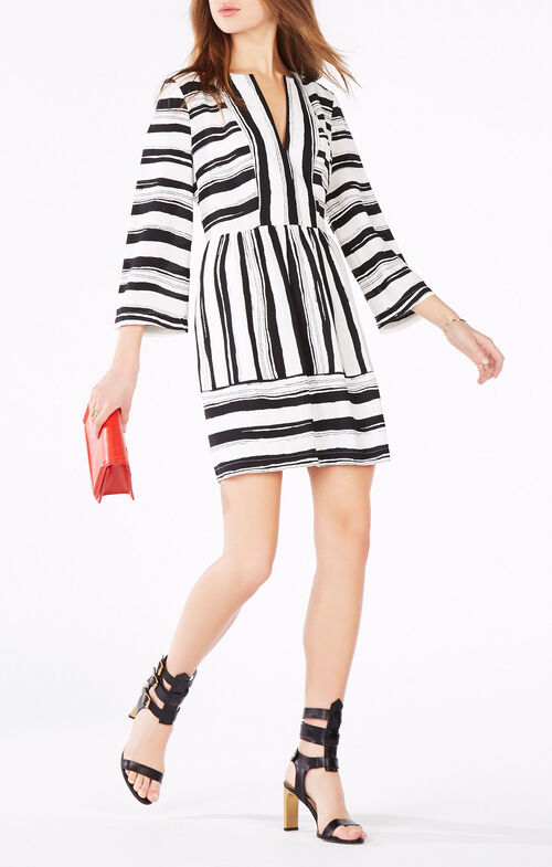 Annora Striped Dress