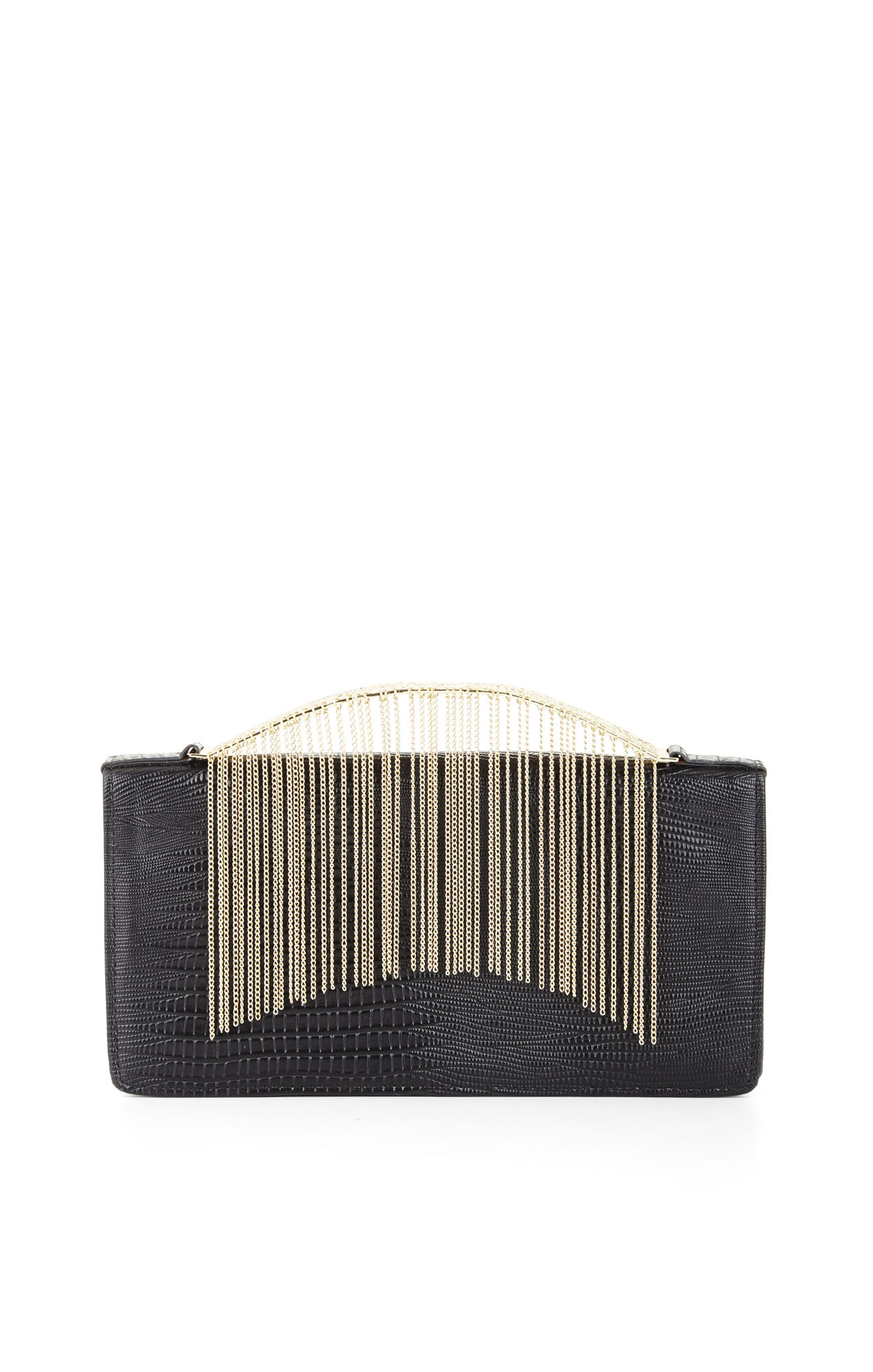 Payton Exotic Faux-Leather Clutch