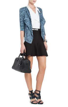 Eden Straight Ruffle Jacket