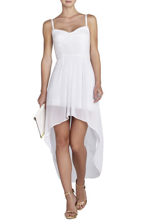 Aiyana Bustier Wrap-Skirt Dress
