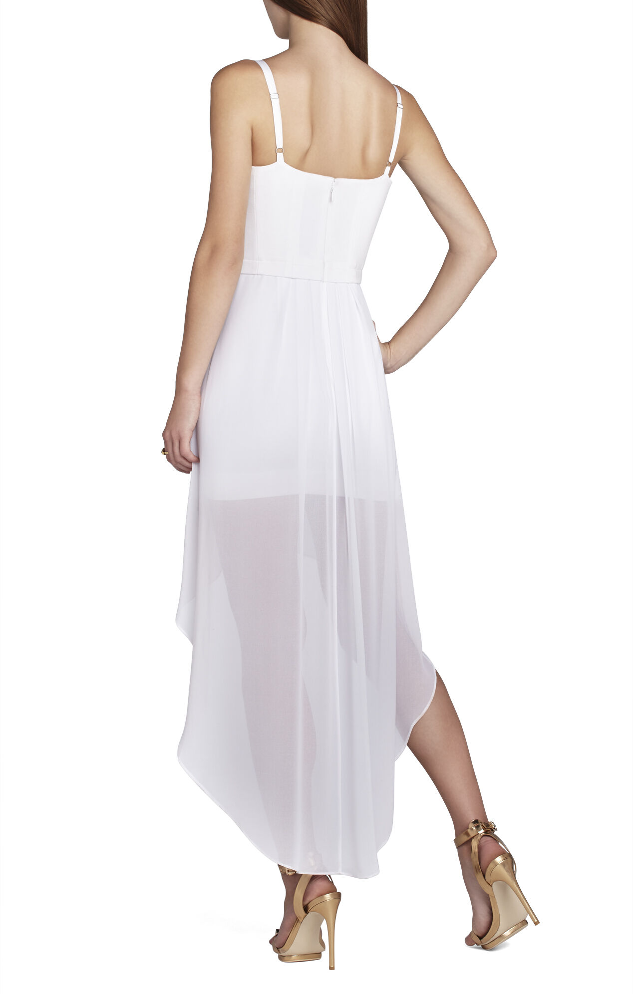 Aiyana Bustier Wrap-Skirt Dress