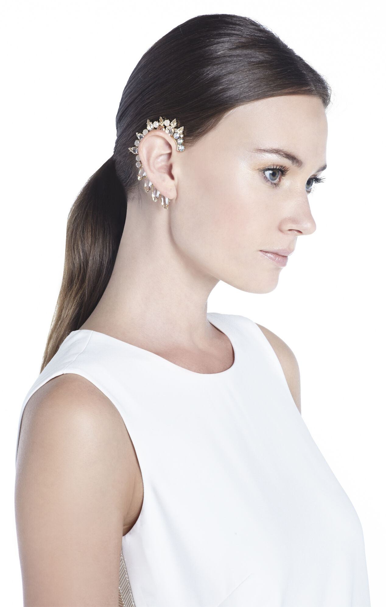 Jeweled Right Ear Cuff