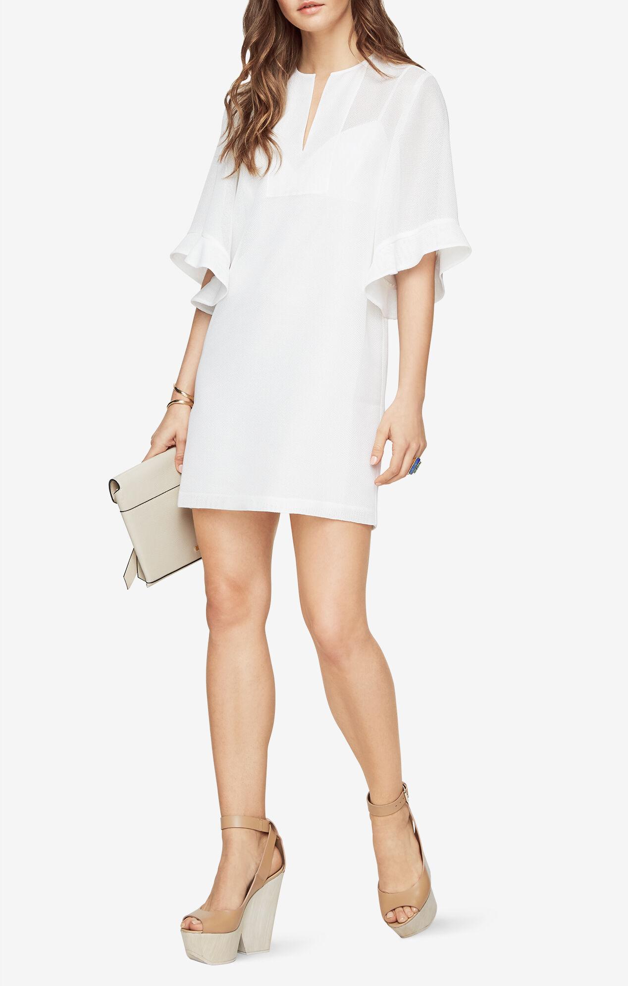 Tati Ruffle-Sleeve Dress