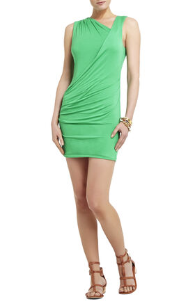 Ainsley Shirred Sleeveless Dress