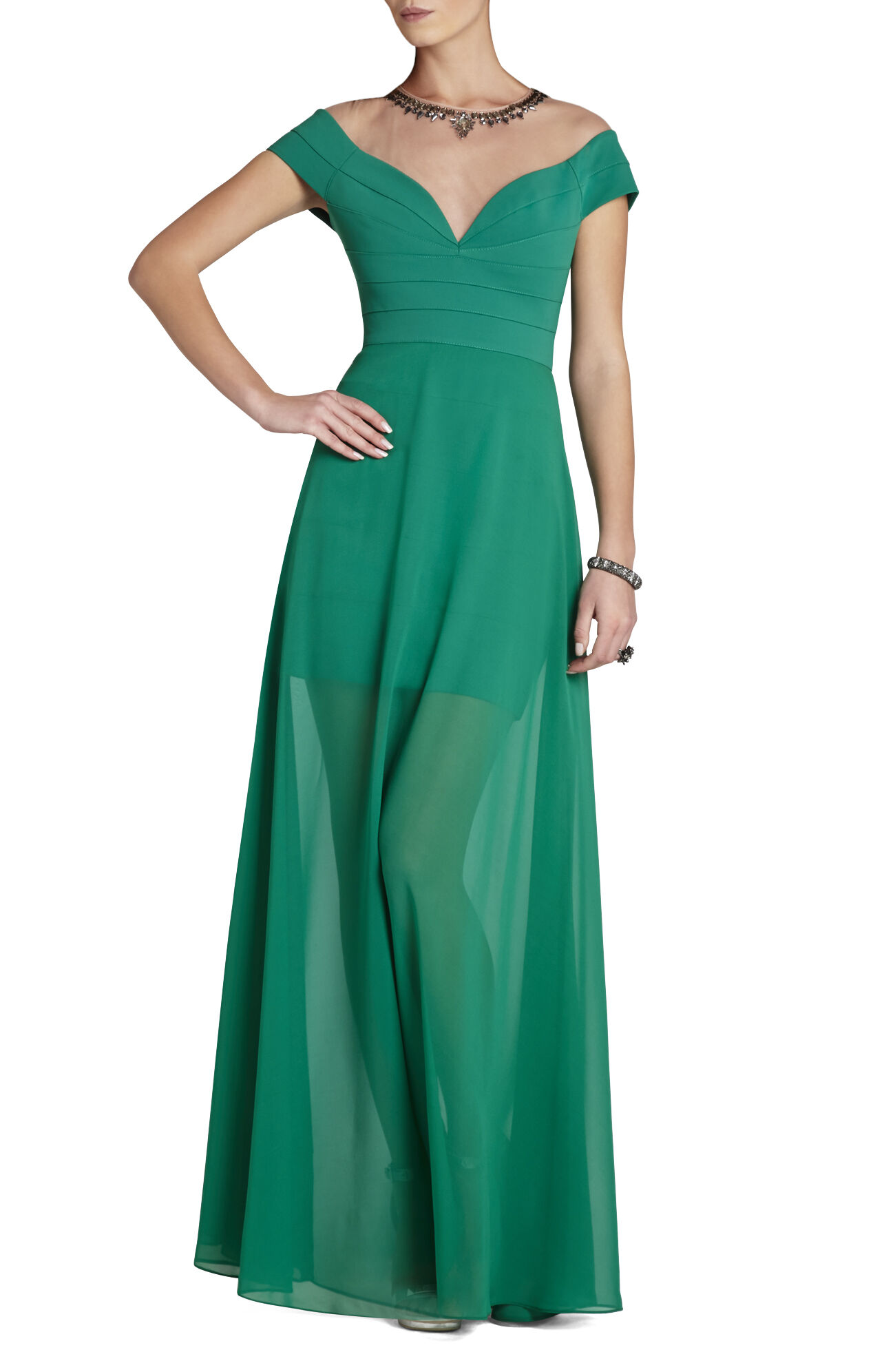 Annabelle Ponte Gown