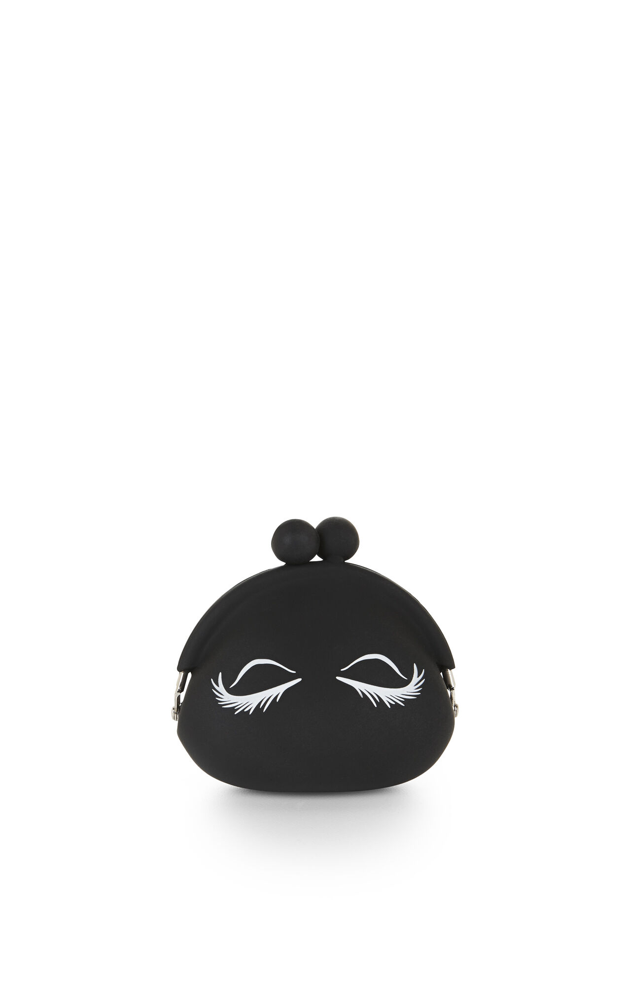 Eyelashes Silicone Coin Purse