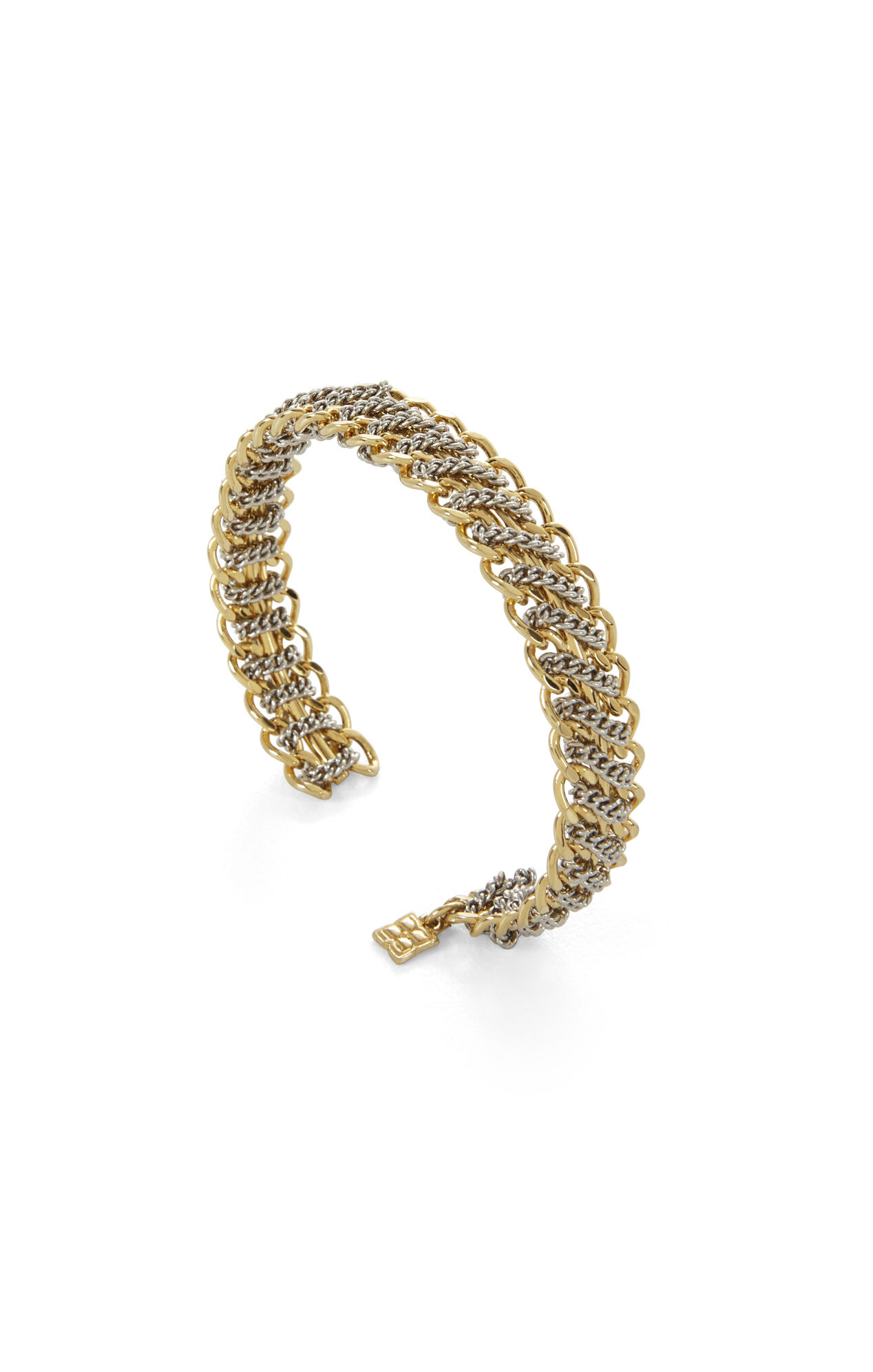 Dual-Finish Chain Cuff
