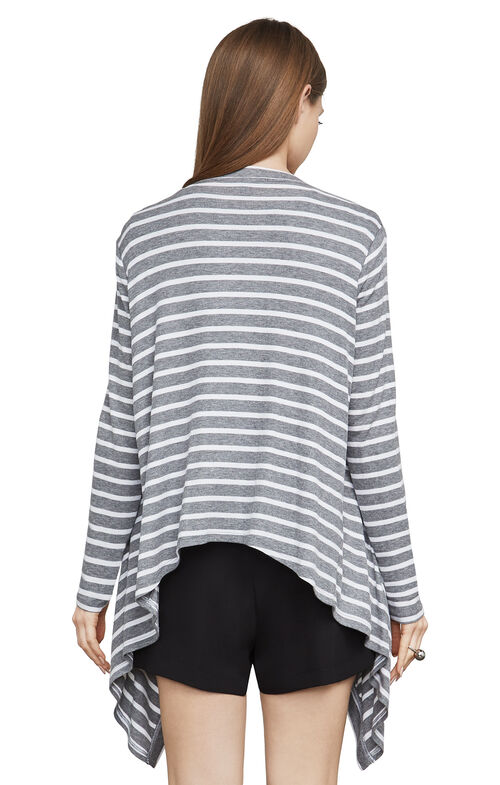 Angela Striped Cardigan Wrap