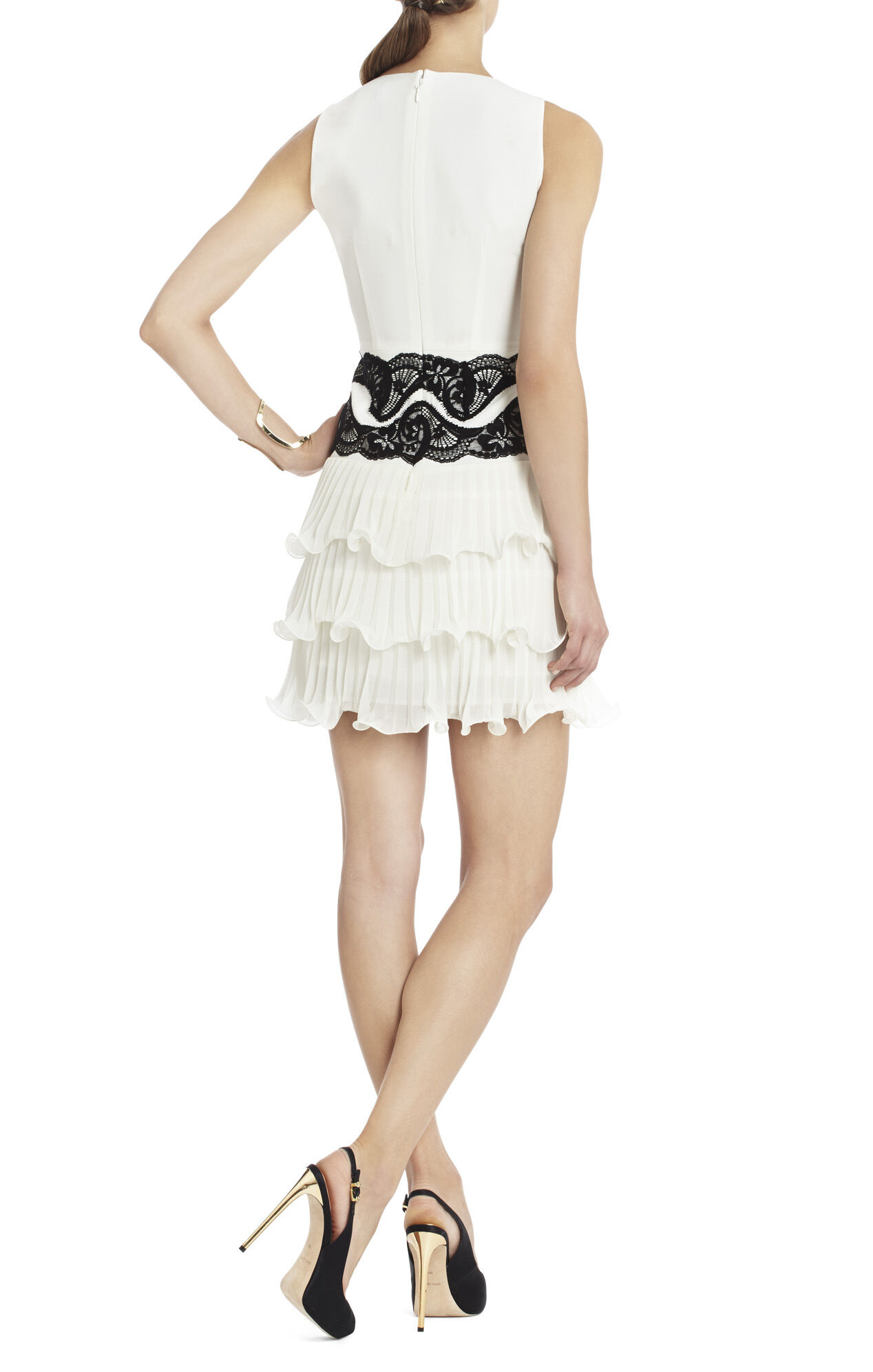 Nanette Tiered Ruffle Dress