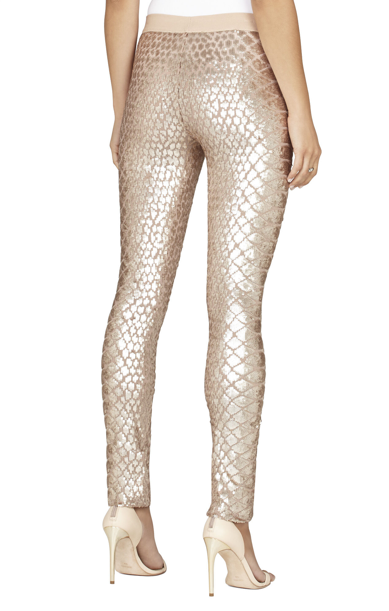 Dena Snake-Sequined Legging