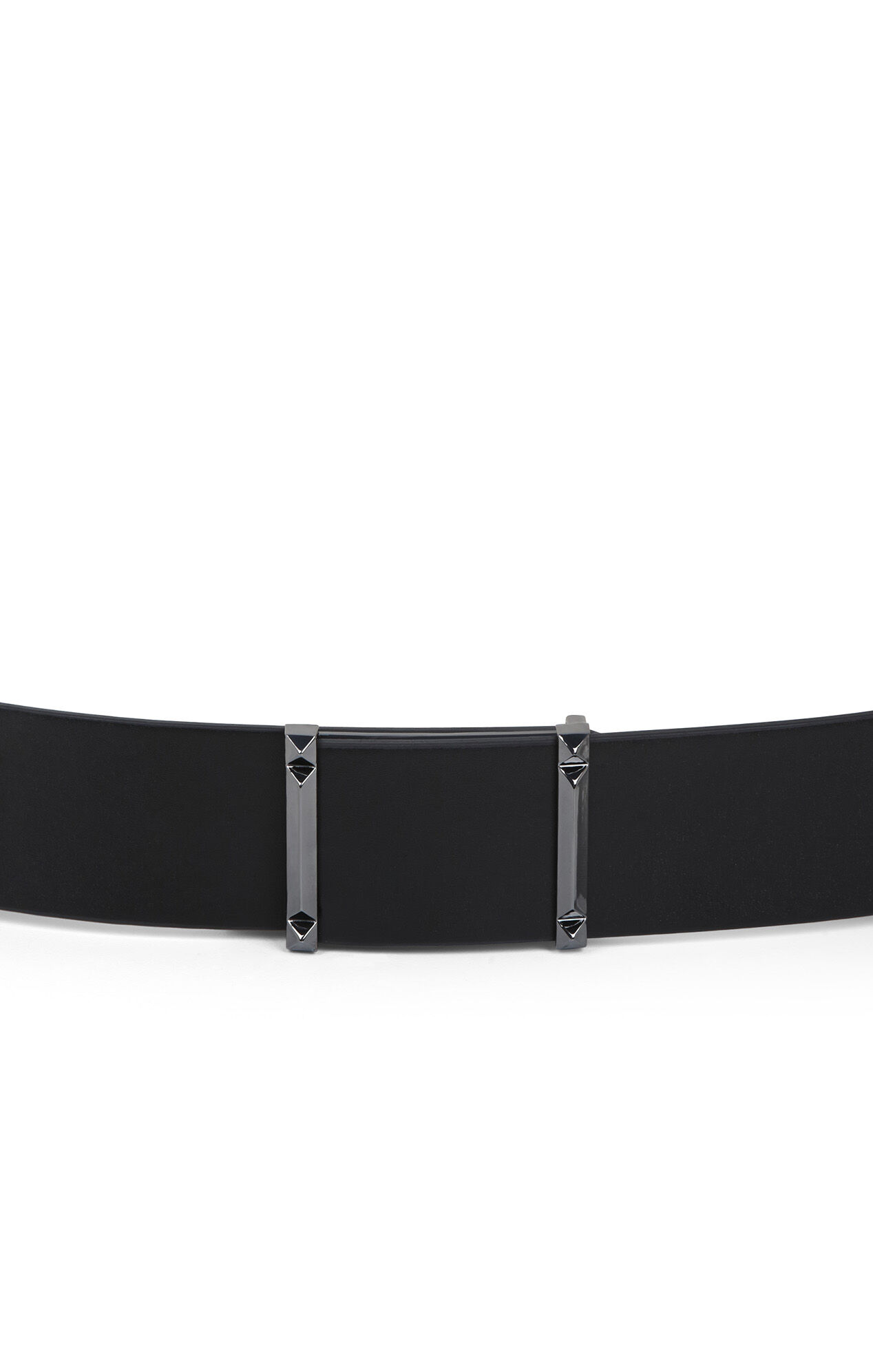 Double Pyramid-Bar Waist Belt