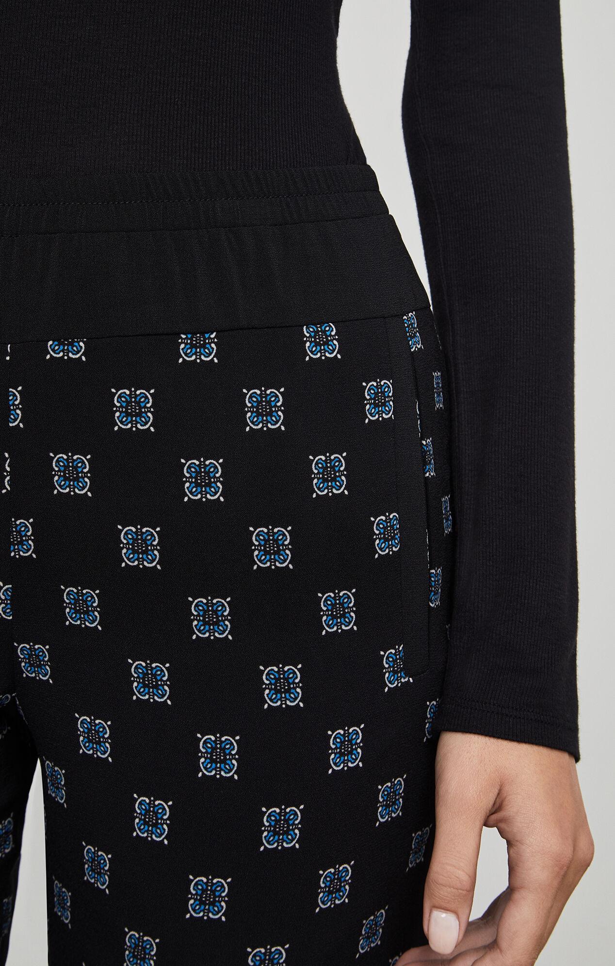 Wesley Print-Blocked Pant