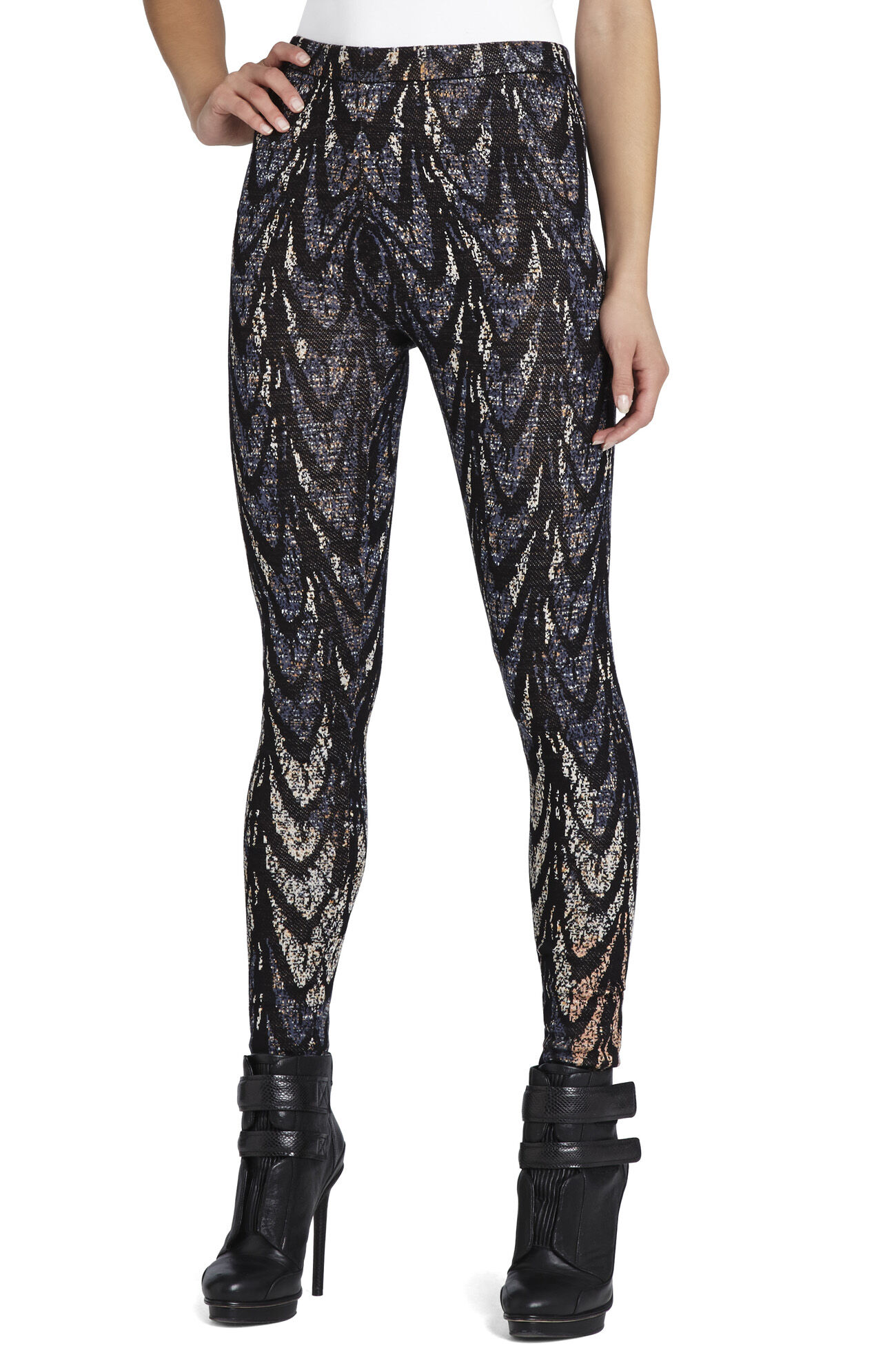 Cameron Feather Cascade Jacquard Legging