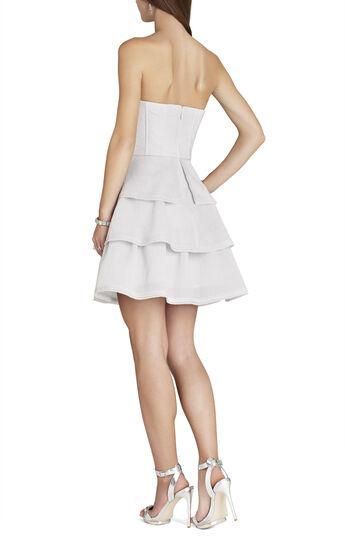 Jacklyn Tiered-Ruffle Sleeveless Dress