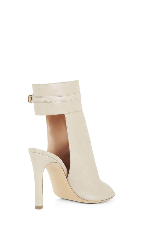 Nastya High-Heel Leather Sandal