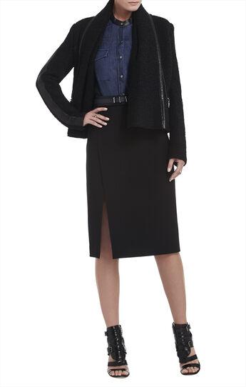 Alana Shawl-Collar Coat