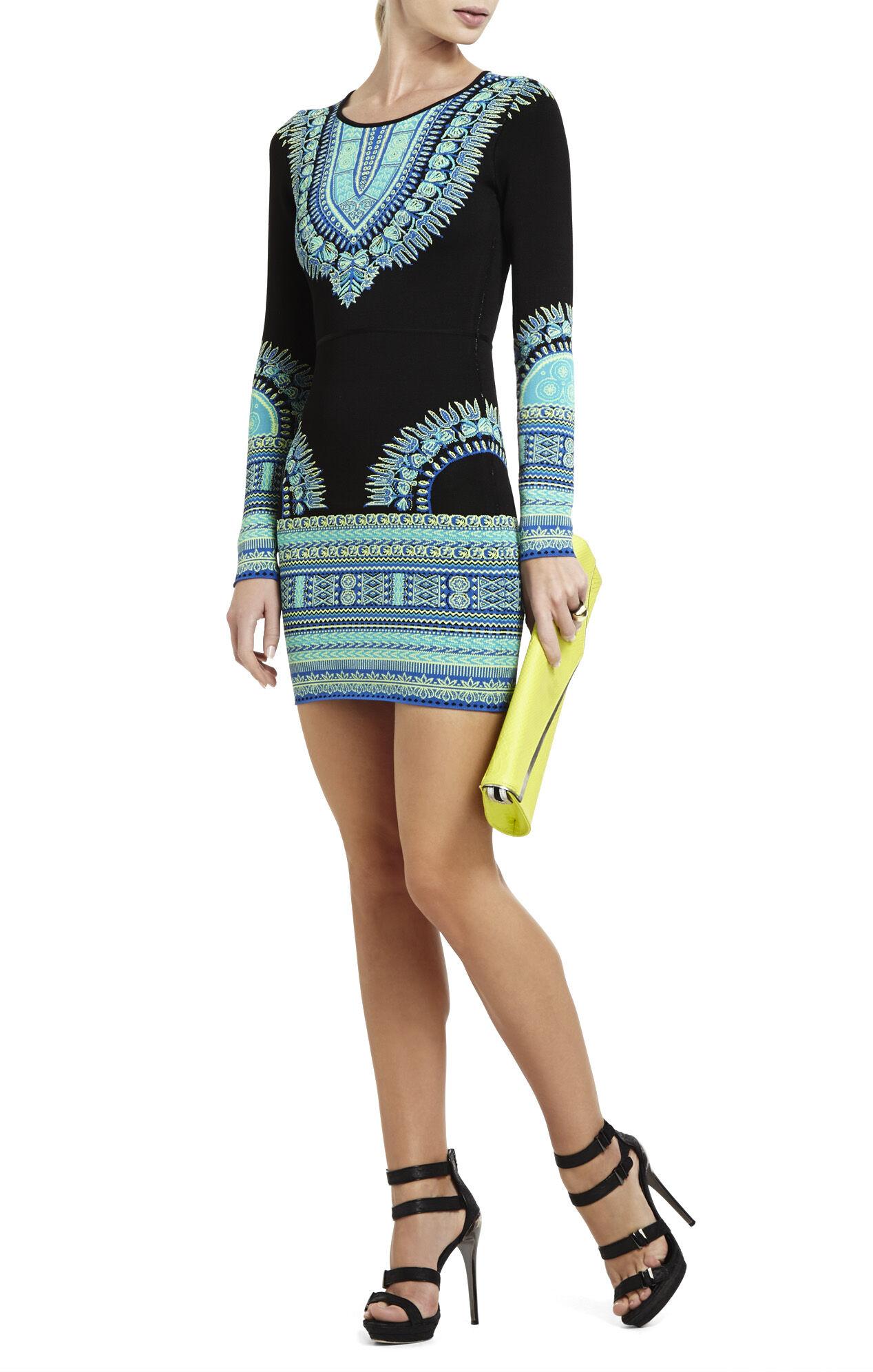 Dashiki Jacquard Dress