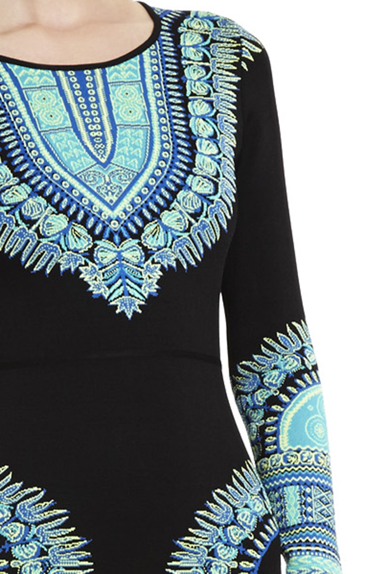 Dashiki Jacquard Dress