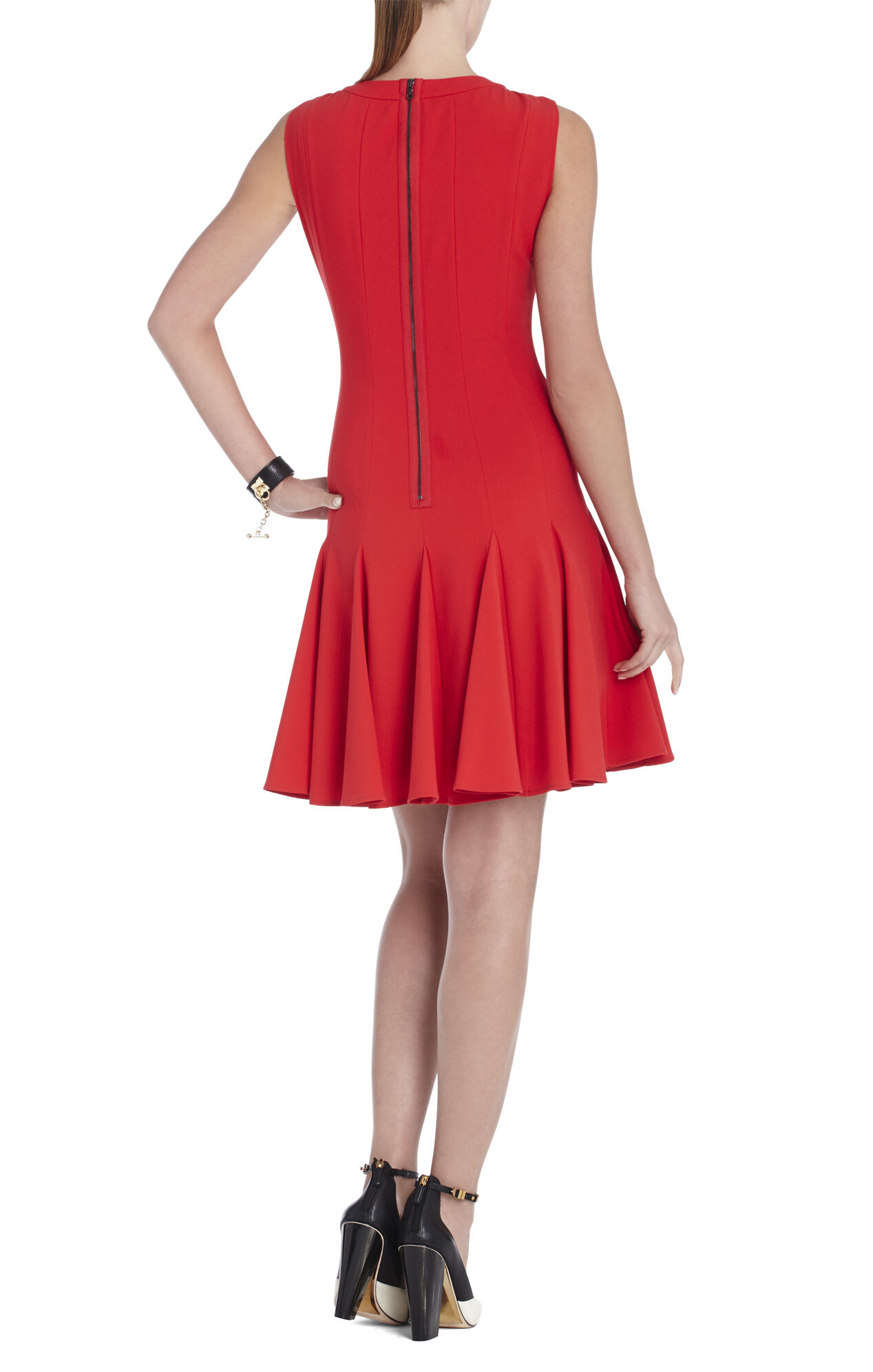 Kalyn Sleeveless Godet Dress