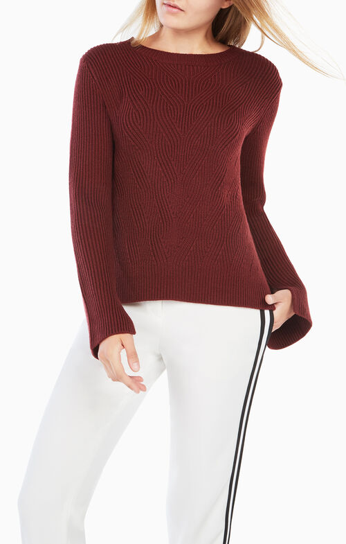 Charlene Open-Back Sweater