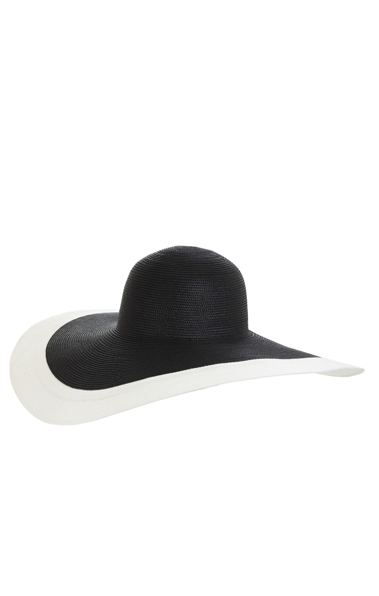 Two-Tone Floppy Hat