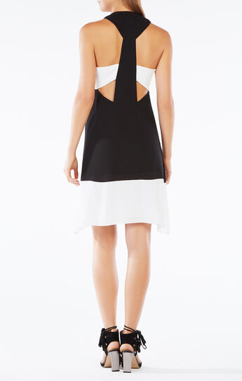 Kylie Sleeveless Blocked Dress