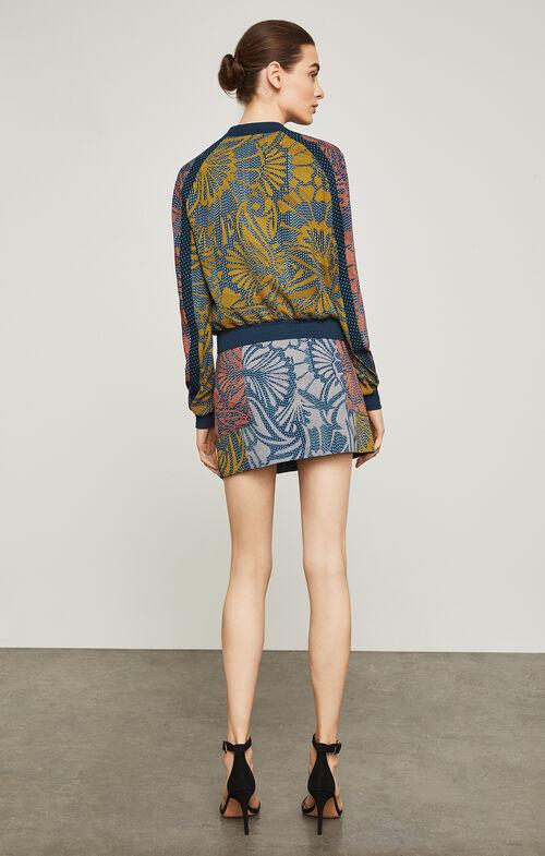 Darin Floral-Print Bomber Jacket
