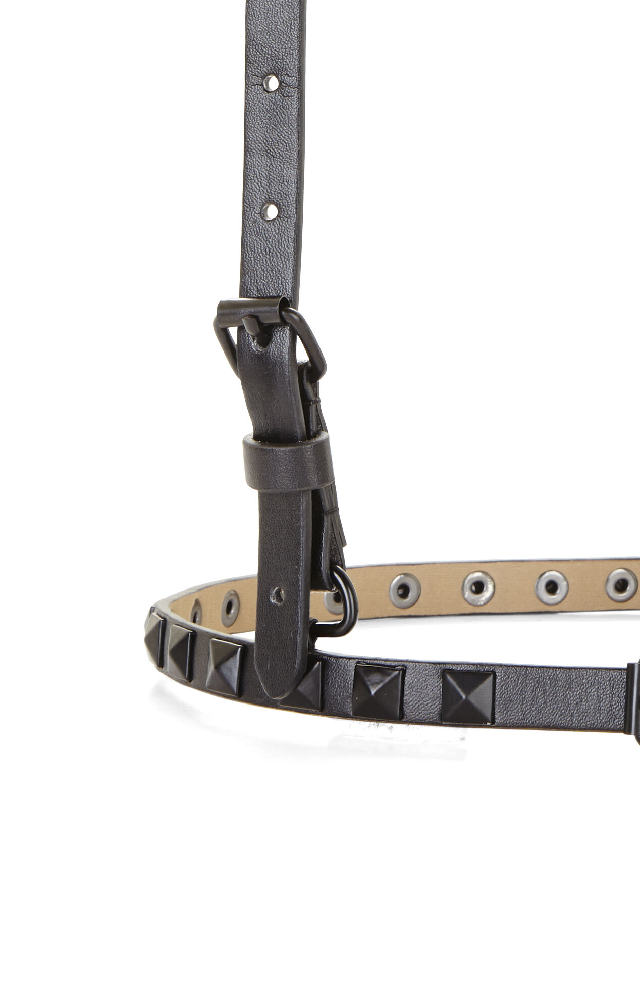 Studded Suspender Harness Waist Belt